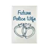 Cool Police officer Rectangle Magnet