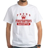 Proud Firefighter's Daughter  Shirt