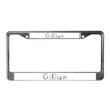 Gillian Princess Balloons License Plate Frame