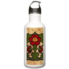 Unique Art nouveau Water Bottle