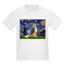 Starry Night & Fawn Saluki T-Shirt