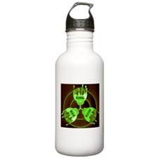 Rural War Room Green L Sports Water Bottle