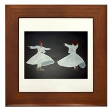 Whirling Dervishes Framed Tile