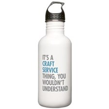 Craft Service Thing Water Bottle