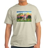 Bright Country with Saluki T-Shirt