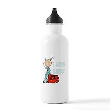 Female EMT I Save Live Sports Water Bottle