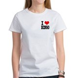 I Heart (Love) Bingo Tee