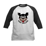 Kids Happy Puppy Baseball Jersey