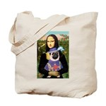 Mona & Sir Pug Tote Bag