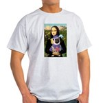 Mona & Sir Pug Light T-Shirt
