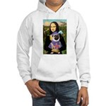 Mona & Sir Pug Hooded Sweatshirt