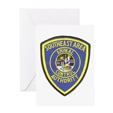 Southeast Animal Control Greeting Card