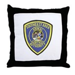 Southeast Animal Control Throw Pillow