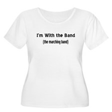 I'm w/ the marching band T-Shirt