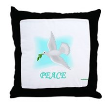 Jewish New Year Peace Throw Pillow