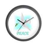 Jewish New Year Peace Wall Clock