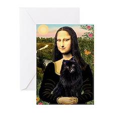 Mona's Schipperke Greeting Cards (Pk of 20)