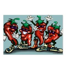 Cute Habanero Postcards (Package of 8)