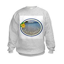 Eve Just Married Sweatshirt
