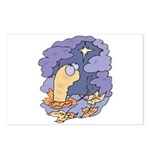 Cute Nightcrawler Worm Postcards (Package of 8)