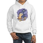 Cute Nightcrawler Worm Hooded Sweatshirt