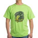 Cute Nightcrawler Worm Green T-Shirt