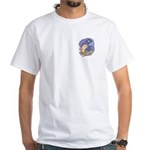 Cute Nightcrawler Worm White T-Shirt