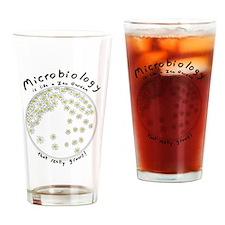 Microbiology Zen Garden Drinking Glass
