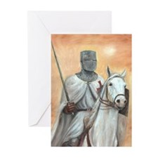 Knights Templar Greeting Cards (Pk of 20)