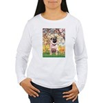 Spring / Pug Women's Long Sleeve T-Shirt