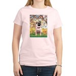 Spring / Pug Women's Light T-Shirt