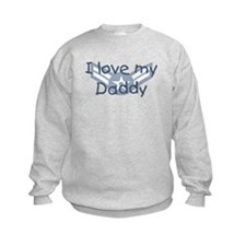 E3 USAF I love my daddy blue Sweatshirt