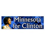 Minnesota for Clinton bumper sticker