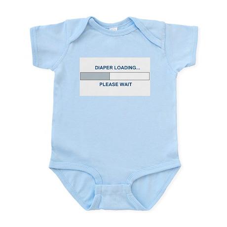 DIAPER LOADING... Infant Bodysuit