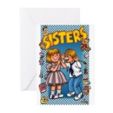 Sisters Greeting Cards (Pk of 10)