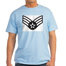 Black Senior Airman T-Shirt