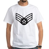 Black Senior Airman Shirt