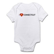 I love Connecticut Infant Bodysuit