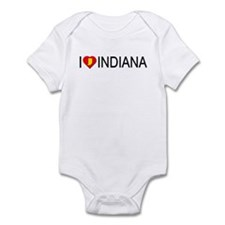 I love Indiana Infant Bodysuit