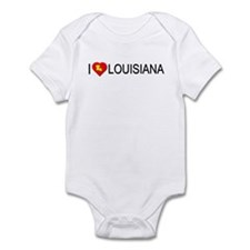 I love Louisiana Infant Bodysuit
