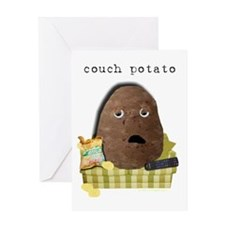 Couch Potato Greeting Card