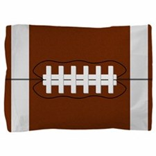 Football Pillow Sham