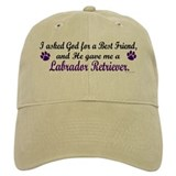 God Gave Me A Labrador Retriever Baseball Cap