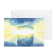 Birthday Box Watercolor Greeting Card