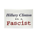 Clinton = Fascist Rectangle Magnet (100 pack)