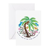 Greeting Cards (Pk of 20)/Tree of Life/Tropical