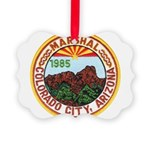 Colorado City Marshal Picture Ornament