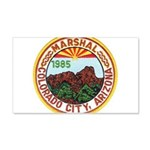 Colorado City Marshal 20x12 Wall Decal