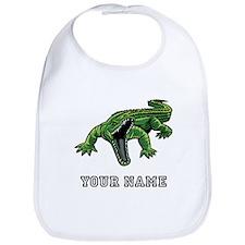 Mean Alligator (Custom) Bib