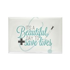 Grey's Anatomy:A Beautiful Day Rectangle Magnet